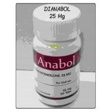 ANABOL  (Dianabol Oral 25 Mg 50 tabletas) Rotterdam Pharmaceutical