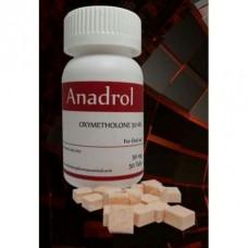 ANADROL 50, Rotterdam Pharmaceutical (Oximetalona 50 Mg)